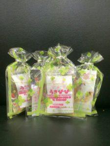 うさフェス2016桜祭の、うさびび「たま」の目印9