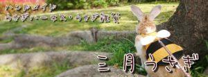 三月うさぎ(ロゴ)